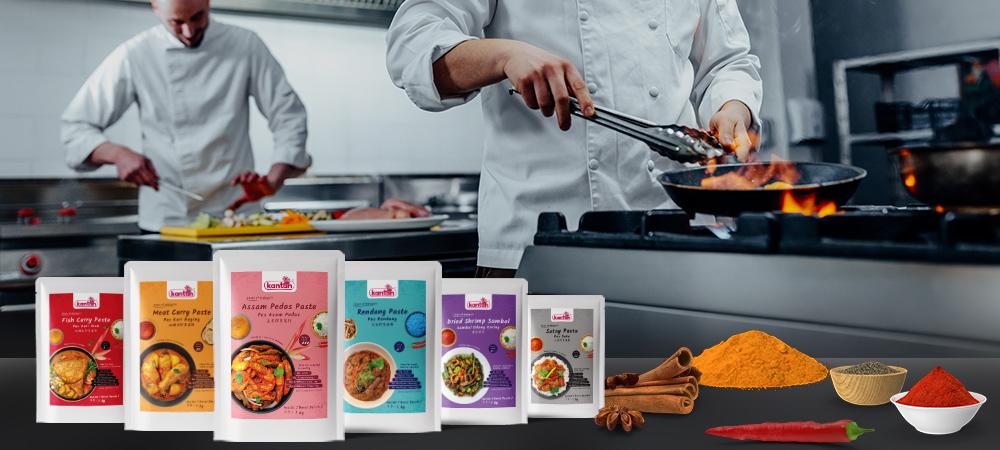 Kantan Kitchen Solution 1kg packaging